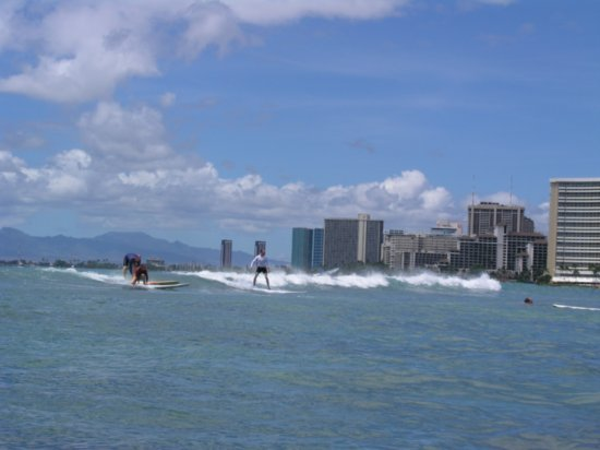 Surfing Waikiki 11