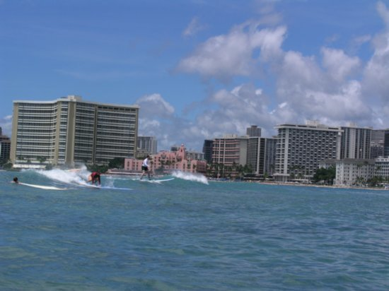 Surfing Waikiki 68