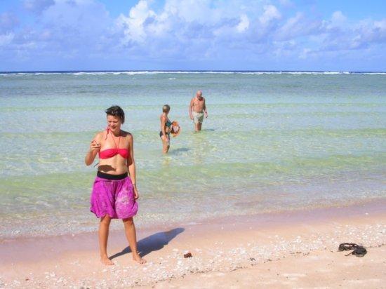 Beach on Nanumea 10