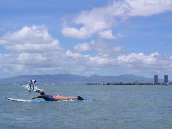 Surfing Waikiki 30