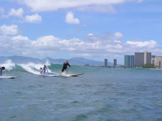Surfing Waikiki 56