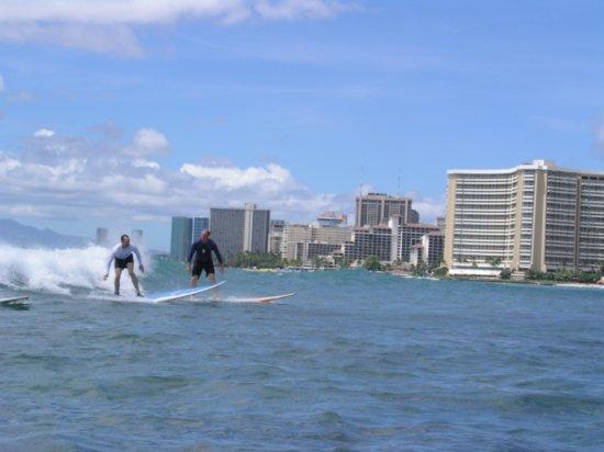 Surfing Waikiki 57