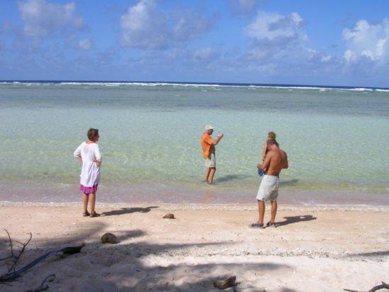 Beach on Nanumea 09