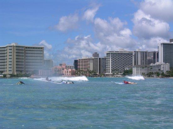 Surfing Waikiki 70