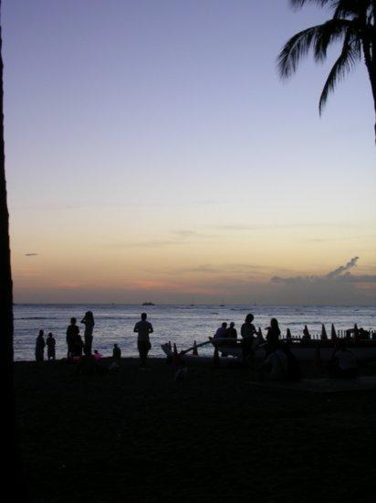 Sunset on Waikiki 04