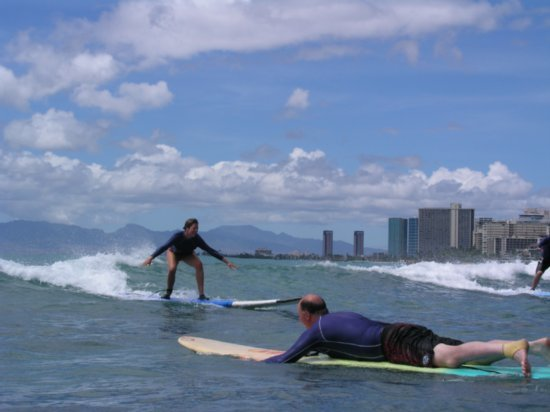 Surfing Waikiki 44