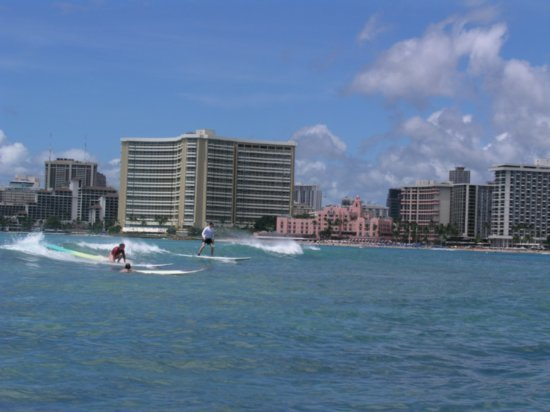 Surfing Waikiki 67