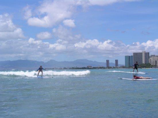Surfing Waikiki 26