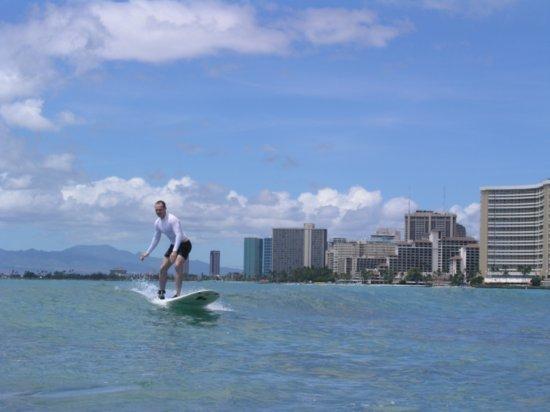Surfing Waikiki 33