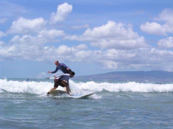 Surfing Waikiki 38