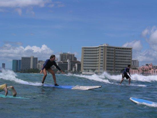 Surfing Waikiki 76