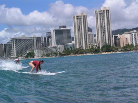 Surfing Waikiki 90