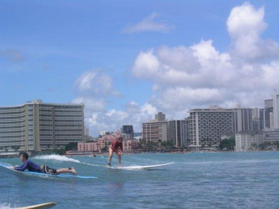 Surfing Waikiki 93