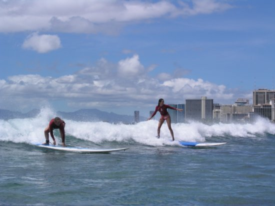 Surfing Waikiki 80