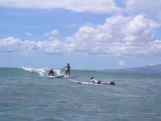 Surfing Waikiki 96