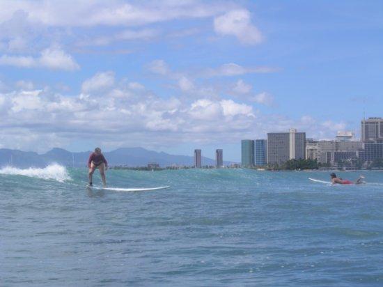 Surfing Waikiki 91