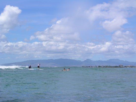 Surfing Waikiki 01