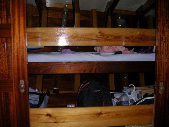 My bunk (top)