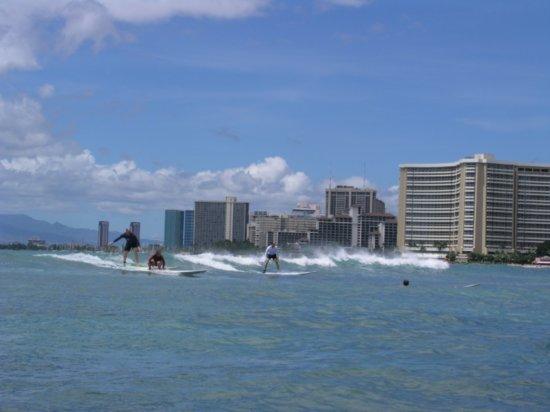 Surfing Waikiki 12