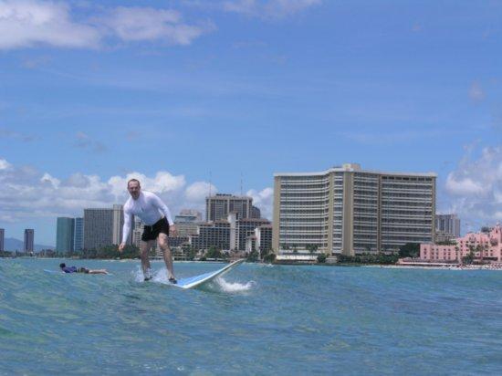 Surfing Waikiki 34