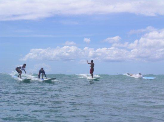 Surfing Waikiki 94
