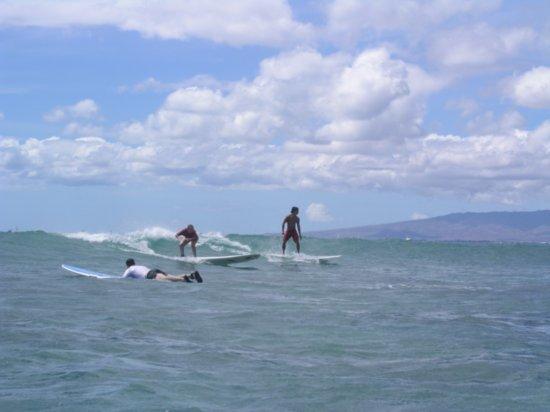 Surfing Waikiki 97