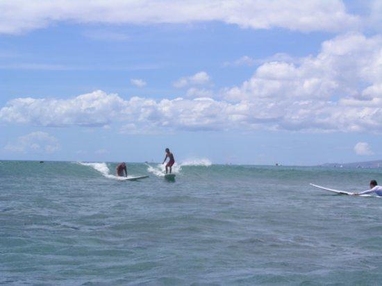 Surfing Waikiki 95