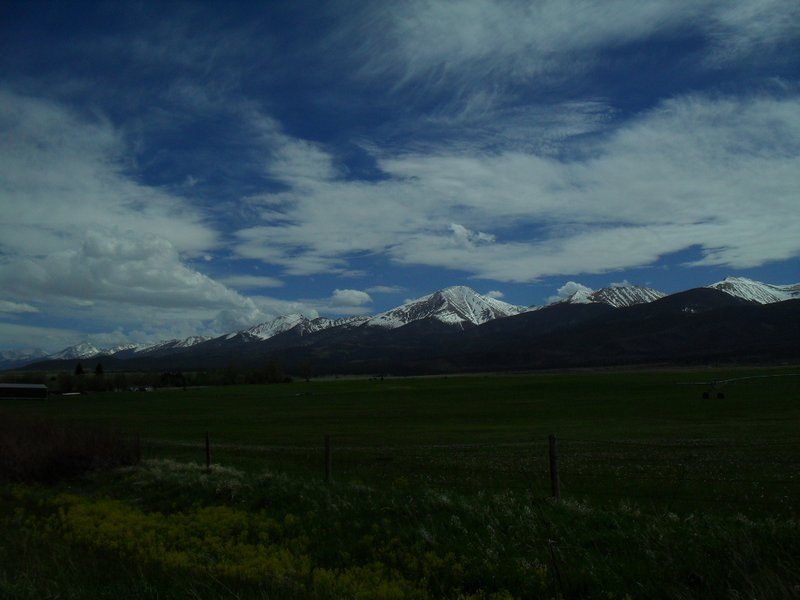 Mountains in CO, taken from CO-96