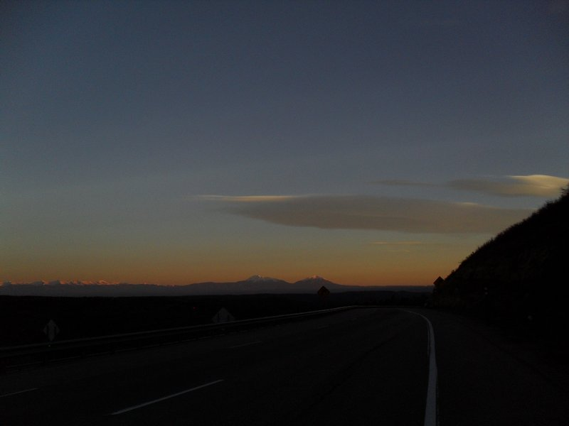 Last shot of mountains at sunrise from Raton Pass