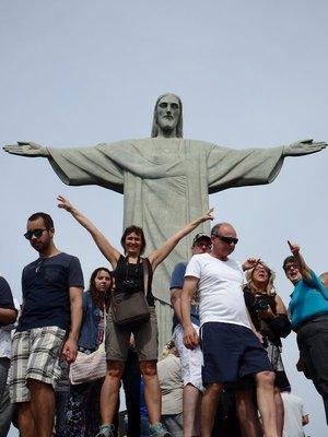 Christus Statue auf dem Corcovado
