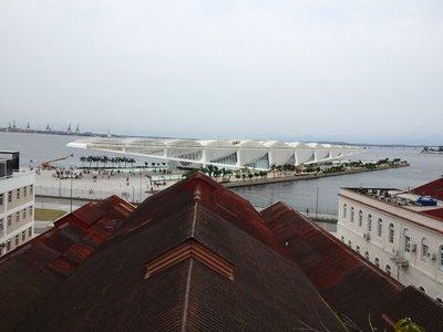 Museum im Hafen von Rio