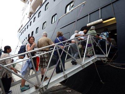 Gangway MS Zaandam