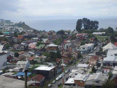 Blick auf Puerto Montt