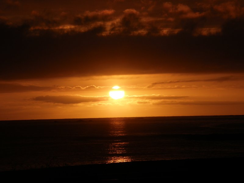 Sunrise at Kaikoura