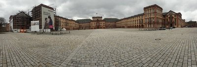 Mannheim palace pano