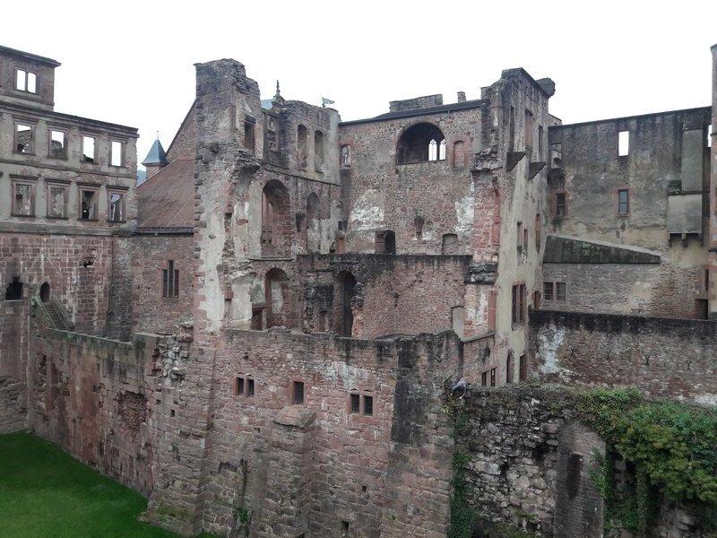 Heidelberg castle side 20171127