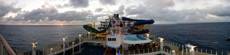 2016 cruise Norwegian Escape Caribbean