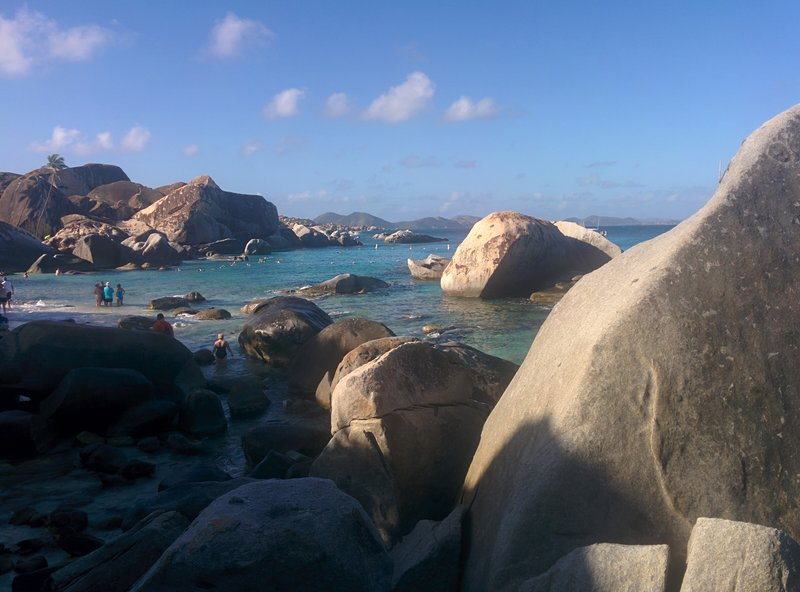 2016 cruise the Baths BVI