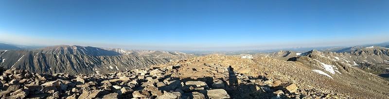 2018-07-07 - Quandary Peak - 15 - pano