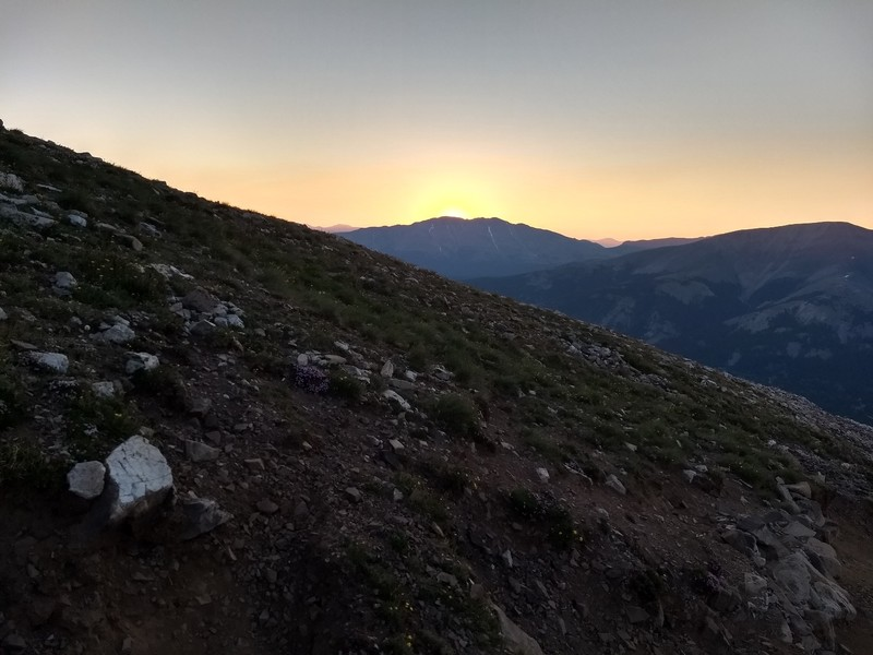 2018-07-07 - Quandary Peak - 06 - sunrise
