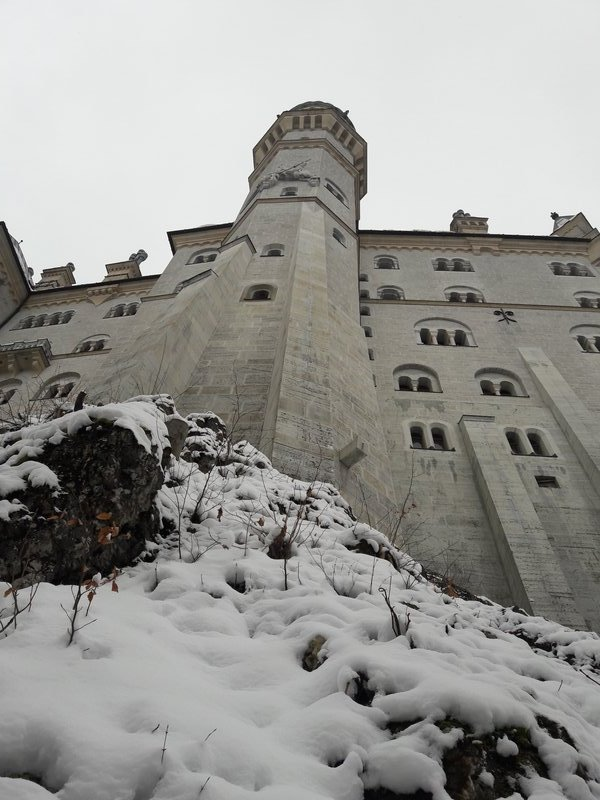 Neuschwanstein tower 2017-12-01