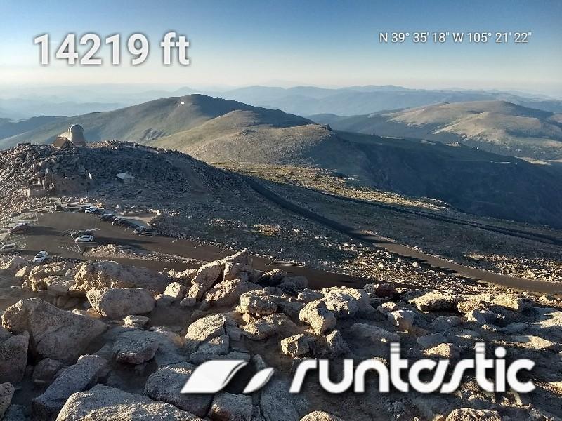 2018-07-08 - Mt Evans - 16 - elevation parking