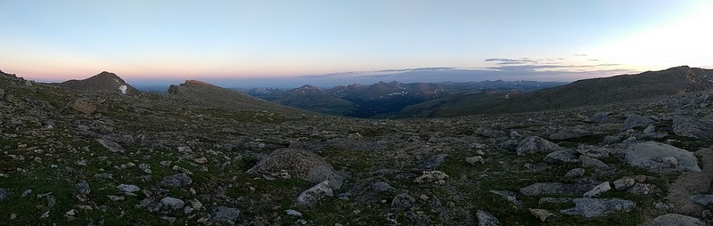 2018-07-08 - Mt Evans - 08 Mt Spalding panoramic