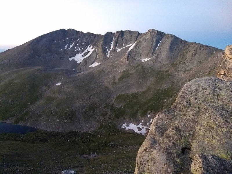 2018-07-08 - Mt Evans - 06 sunrise peak