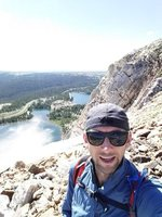 2017-07-15 Medicine Bow Peak hike 05 selfie