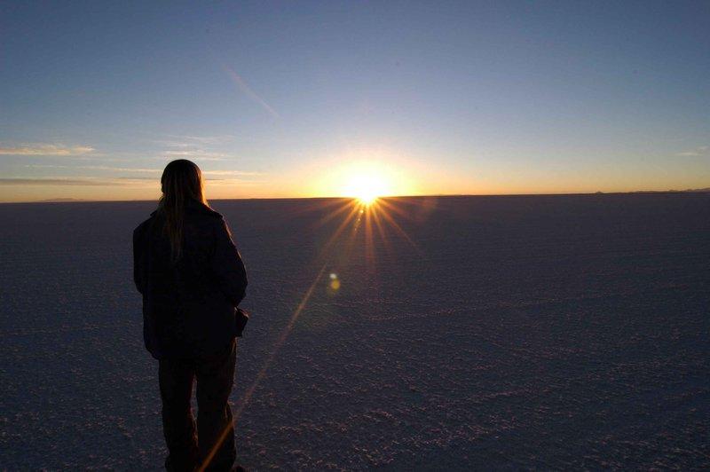 Me at sunrise