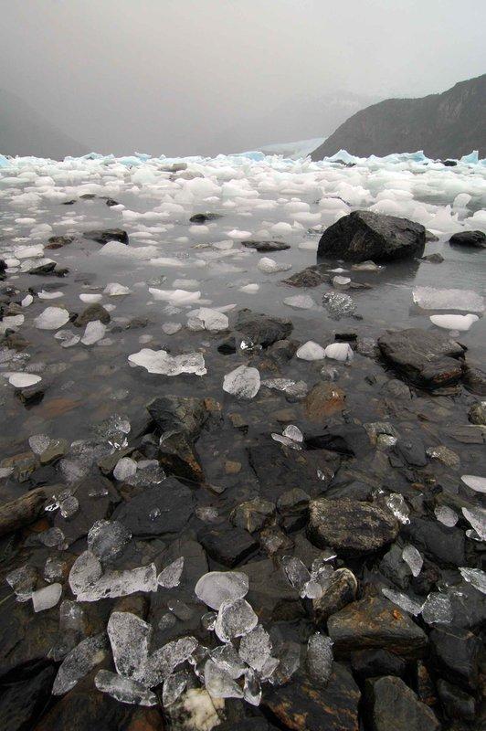 Rocks at lake