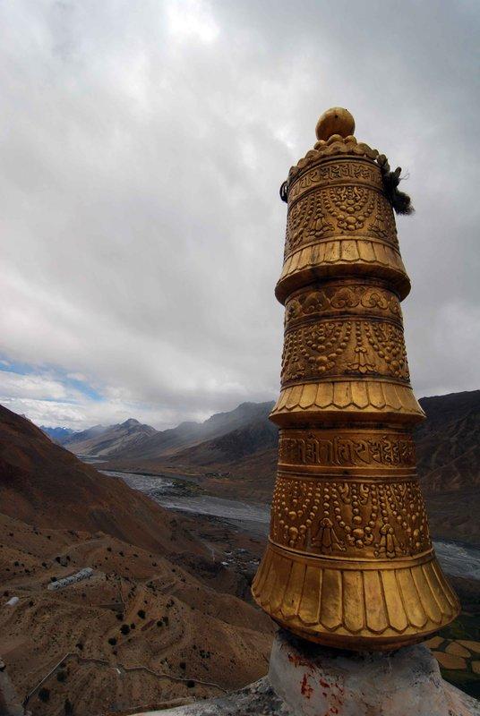 Rooftop of Kee Monastery