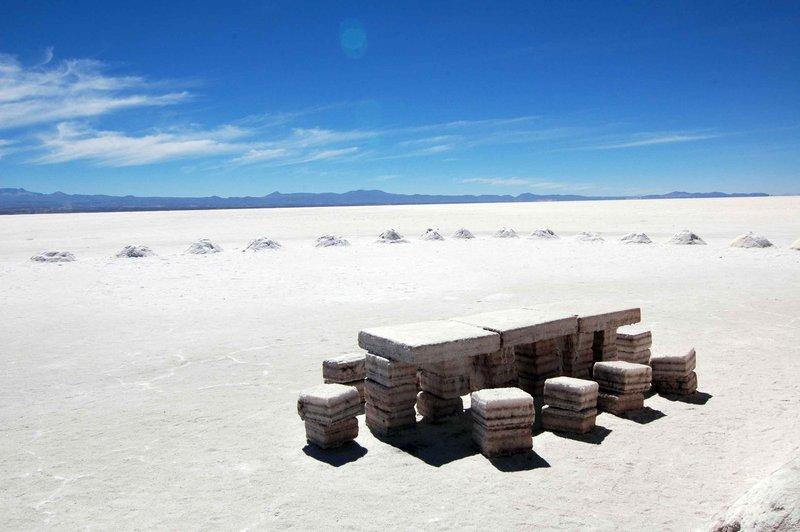 Salt furniture