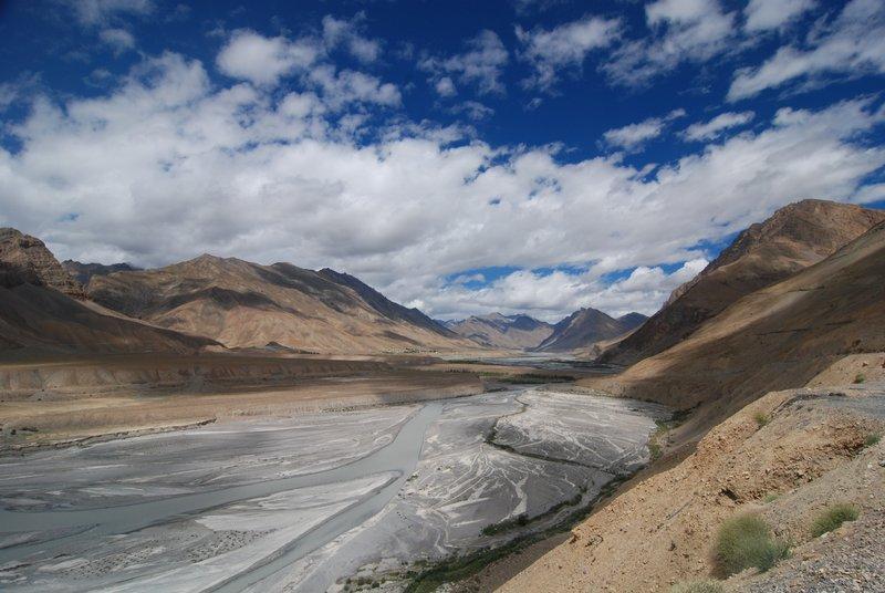 Spiti river valley